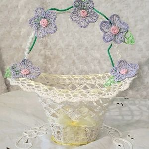 FLOWER GIRL BASKET BRIDAL